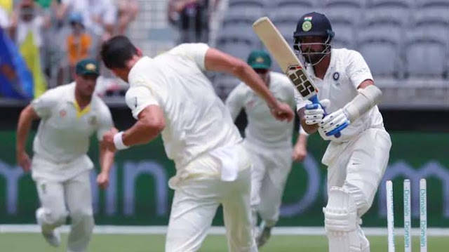 Test in the balance after Kohli absorbs blows, then strikes