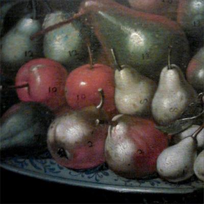 Frutta, Capodimonte, Barocco