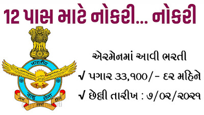 Indian Air Force Recruitment for Airmen