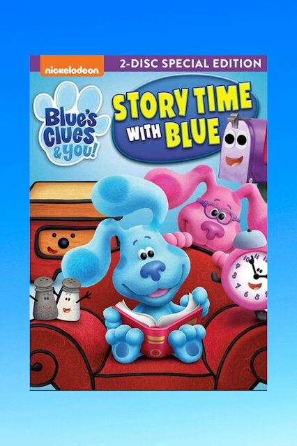 Blues Clues & You Story Time With Blue DVD Giveaway