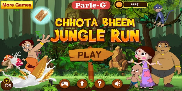 Chhota Bheem Jungle Run Apk Free on Android Game Download