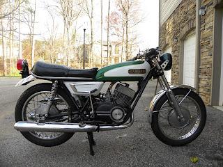 1972 Yamaha DS7: 2011-12-04