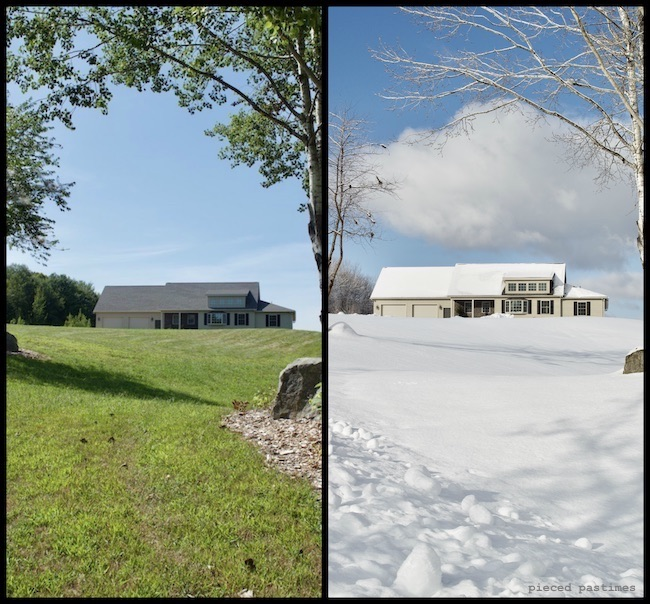 Our New Hampshire Home from Summer to Winter at Pieced Pastimes