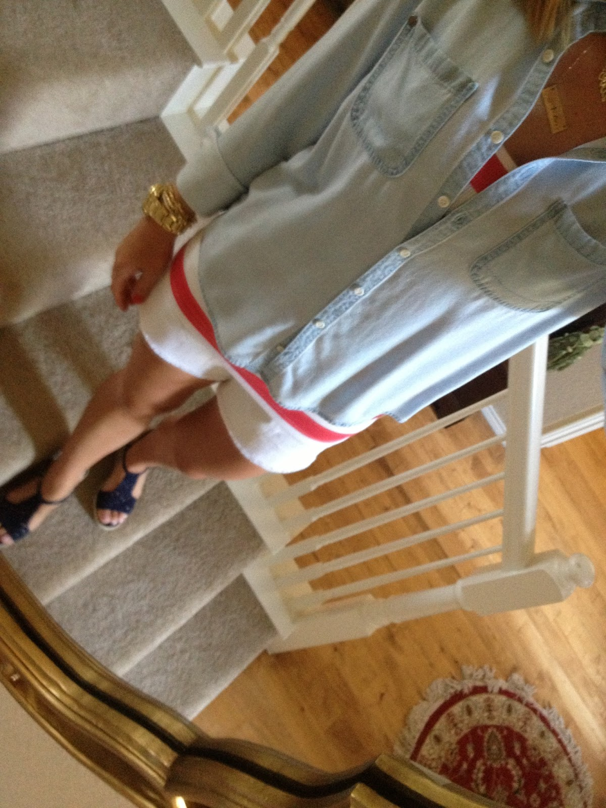 987f92815f6 I want to look patriotic this July 4th without looking like I wrapped  myself in the American Flag…so