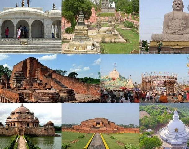 State wise Top 5 tourist places in India