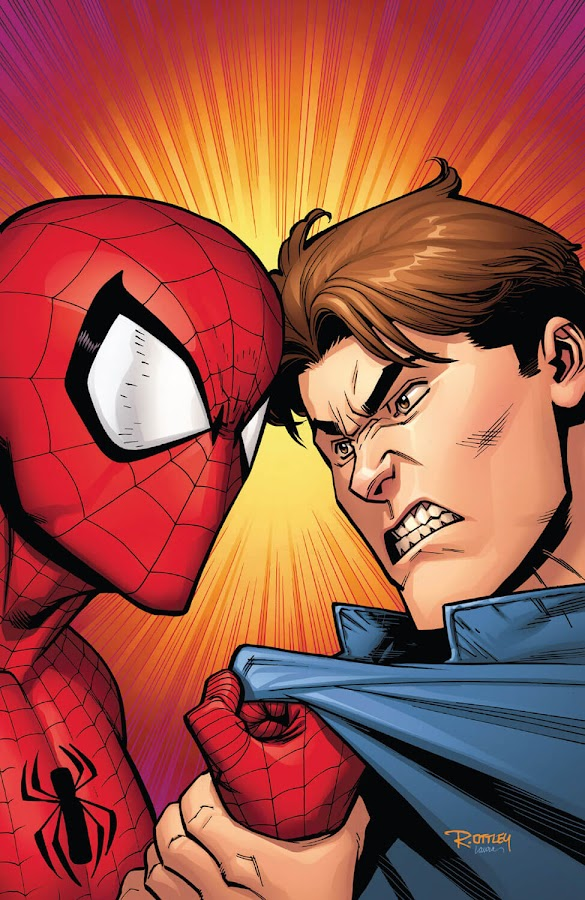 peter parker vs. spider man marvel comics