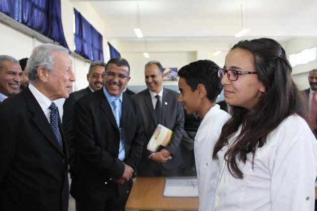 وزير التربية الوطنية يتفقد عملية تنزيل المشاريع الإصلاحية بفاس