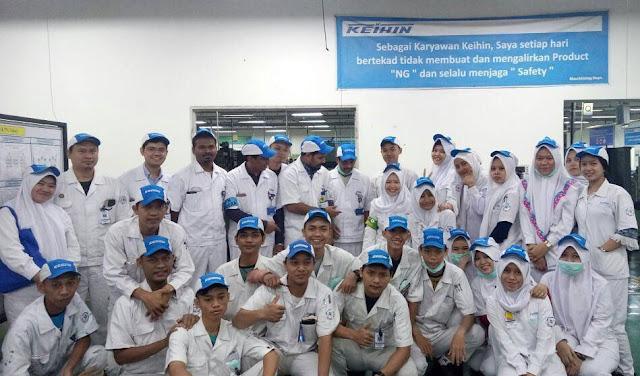 PT Keihin Indonesia Buka Lowongan Kerja Bagian Section Leader Finish Good