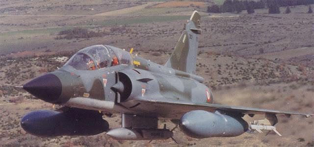 مقاتلة Mirage-2000N مسلحة بالصاروخ ASMP