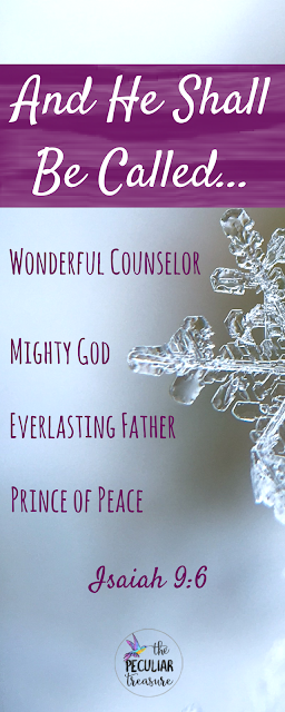 The names of Jesus tell us a lot about who he is, why he came, and why we celebrate Christmas. #Faith #Christianity #Christmas #Jesus