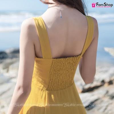 Váy maxi đi biển V390