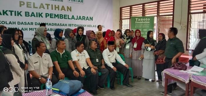 Kadisdik Kabupaten Asahan Mitra Tanoto Foundation Pembelajaran bagi sekolah SD dan MI