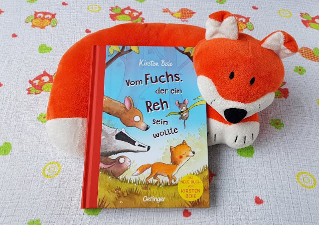 """Kirsten Boies """"Vom Fuchs, der ein Reh sein wollte"""": Ein Kinderbuch vom Fremdsein und der Herzensentscheidung für ein Pflegekind. Werte und ein großes Herz helfen die Unterschiedezu überbrücken."""