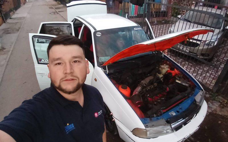 Joven que se salvó de la explosión en un Daewoo
