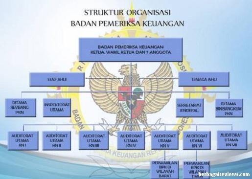 Struktur Organisasi Badan Pengawas Keuangan (BPK) - berbagaireviews.com