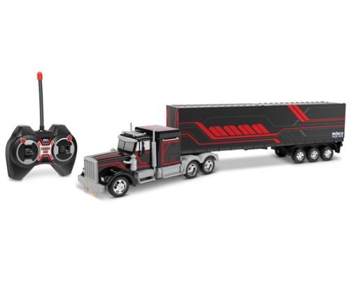mobil truk remot gandeng mainan
