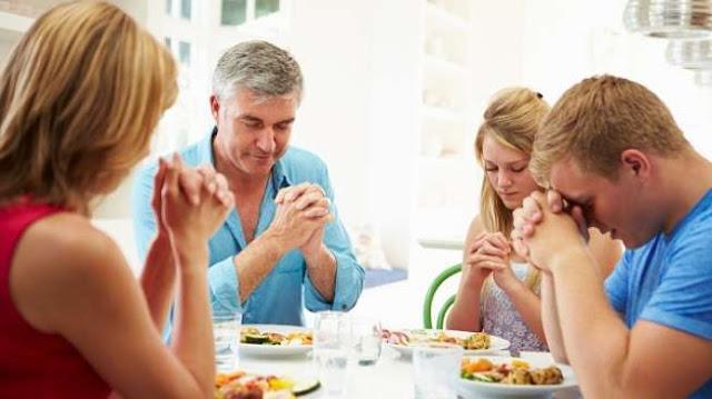 Doa makan Kristen