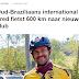 Site de notícias da Holanda destaca viagem de Fred de bicicleta ao Rio de Janeiro