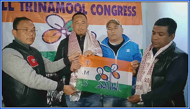 Bimal Gurung supporter Suraj Bagdas, Choden Simik joins TMC