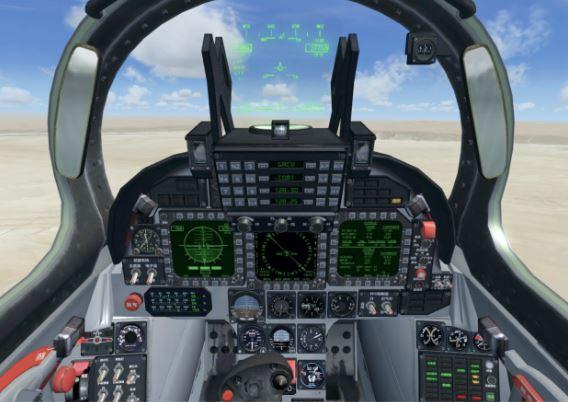 Chengdu J-10 cockpit
