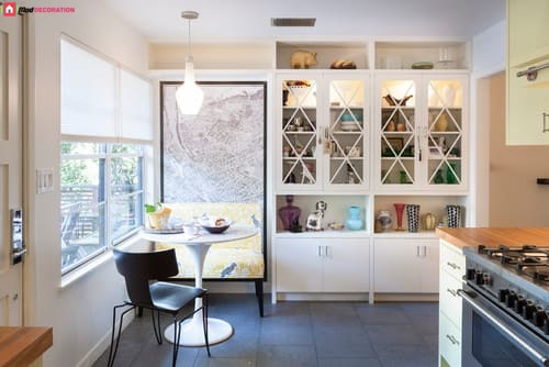 Wake Up Your Kitchen Structure With These 5 Breakfast Nook Ideas