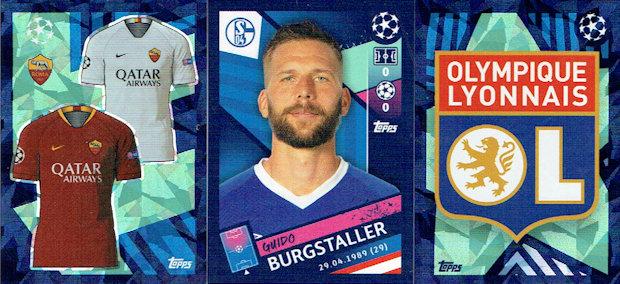 David von Ballmoos Sticker 548 Topps Champions League 18//19