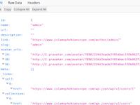 Enumerating Wordpress User Dengan /wp-json/wp/v2/users/