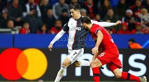 رونالدو يقود يوفنتوس للفوز على فريق باير ليفركوزن في دوري أبطال أوروبا