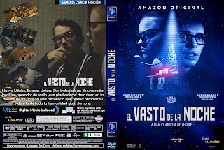 CARATULA EL VASTO DE LA NOCHE - THE VAST OF NIGHT 2019[COVER DVD]
