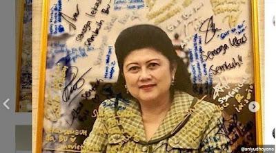 Kabar Berita Terbaru Hari Ini KEMUNCULAN Ani Yudhoyono Lewat Mimpi, Minta Ibas dan Aliya Rajasa Untuk Menjaga 3 Sosok Ini