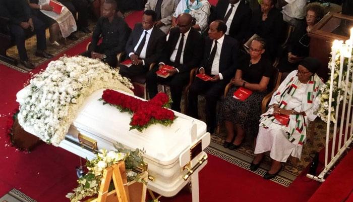 Mwili wa Mama Mercy Anna Mengi waagwa