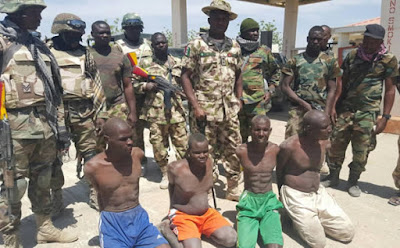 Image result for Nigerian troops arrest four terrorists in Borno