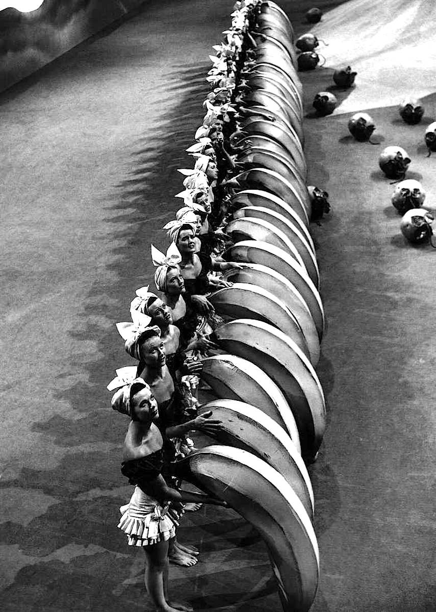 Busby Berkeley film set