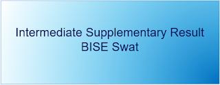 Intermediate Supplementary Result  2020 BISE Swat