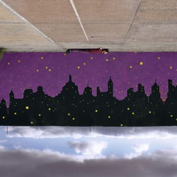 Obra de arte en la calle
