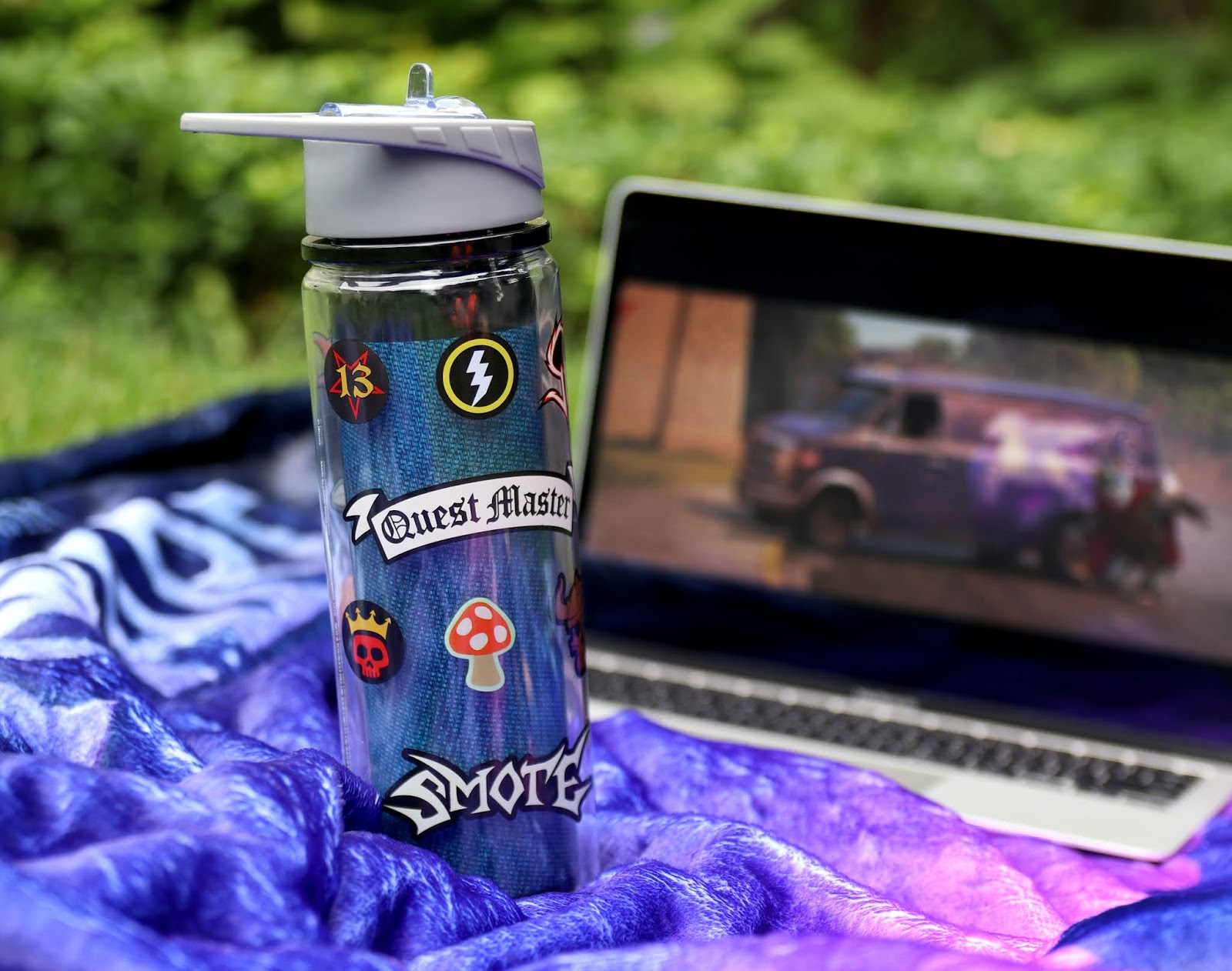 disney pixar onward water bottle