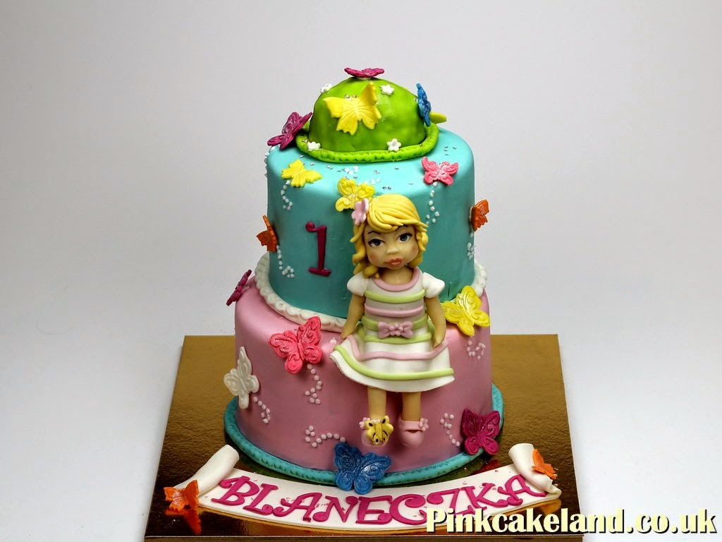1st Birthday Cake for Girl