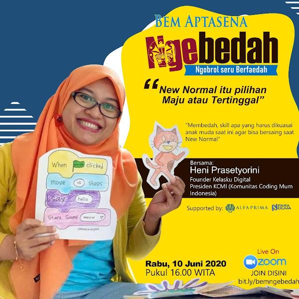 Ngebedah: Ngobrol Seru Berfaedah Bareng Mahasiswa Kampus Alfa Prima Bali