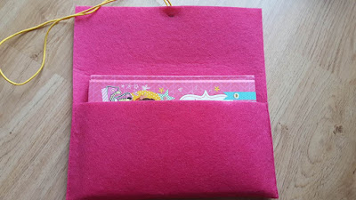 DIY Book felt gift box