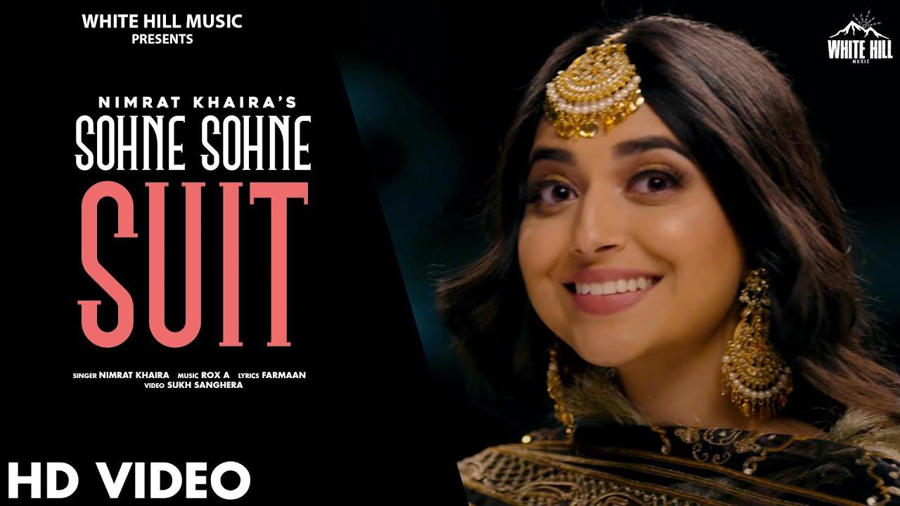 Sohne Sohne Suit Lyrics - Nimrat Khaira | Harj Nagra | Sukh Sanghera