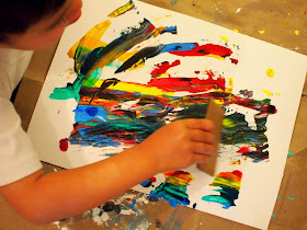 create lovely streaks of color