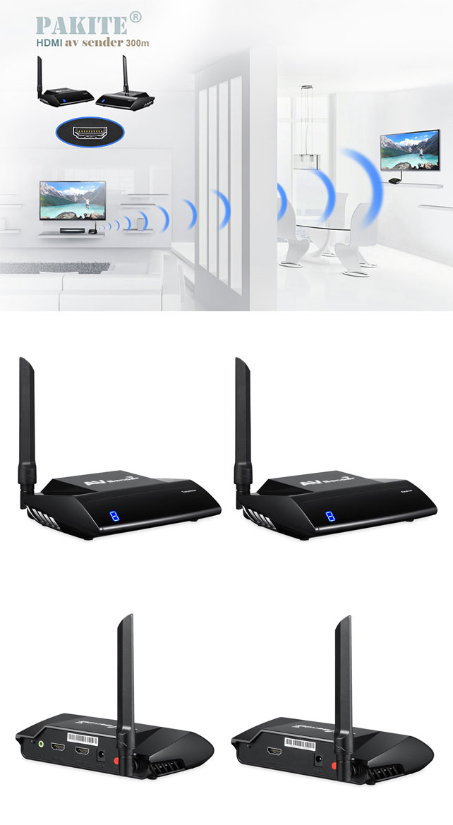 HDMI Extender Transmitter and Receiver