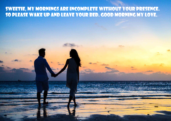 """good morning love messages for girlfriend"""