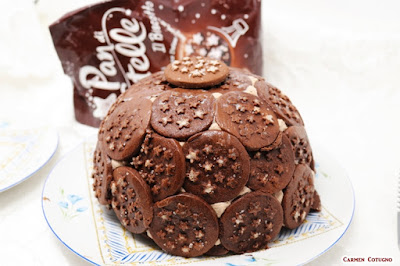 torta pan di stelle cupola di carmy