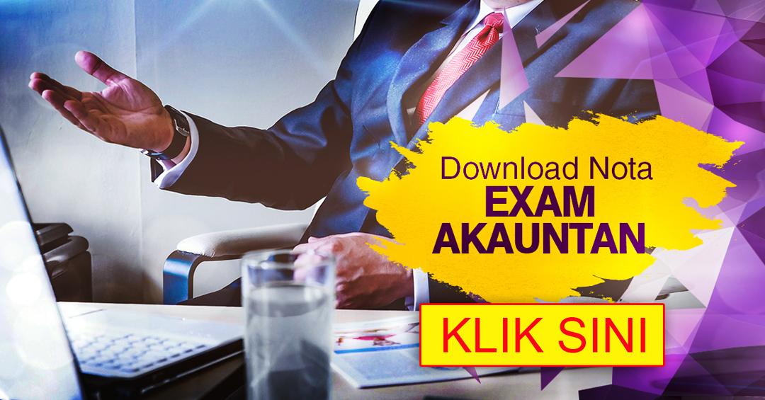 Nota Exam dan Rujukan PSEE Akauntan WA41