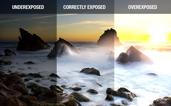 under exposure vs over expsure