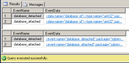 Dave Mason SQL Server Extended Events - ring_buffer event_file 02