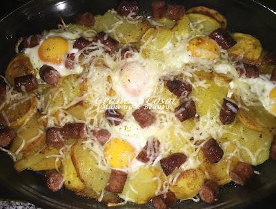 Patatas a lo pobre - Receta paso a paso
