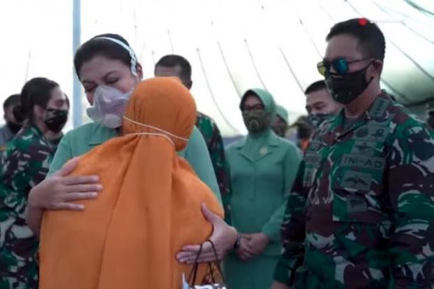 Wow! Masker Unik Milik Diah Erwiany  Istri Jenderal Andhika Ini Seharga Rp 25 Juta