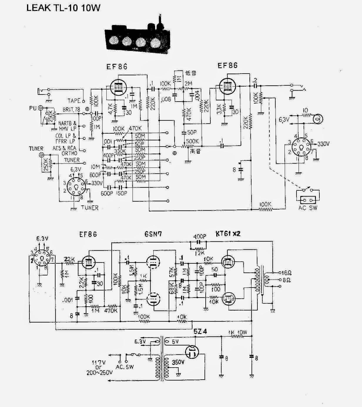 Truefi Vintage Treasuries The Restoration Of Leak Valve Amplifiers Tl10 1